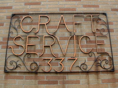 Craft Service Sign in Rochester NY