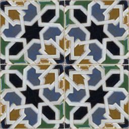16th Century Tile 02