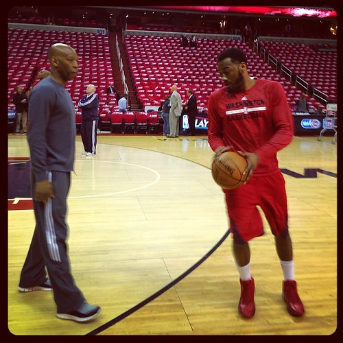 Sam & John, Coach & Player, #Wizards.