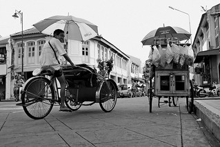 Trishaw vs Commercial Tricycle