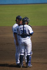 DSC05173 (shi.k) Tags: 横浜ベイスターズ 140601 嶺井博希 イースタンリーグ 平塚球場 小林寛