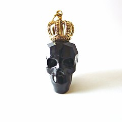 NOIR CROWN & SKULL Swarovski Necklace (Black Boudoir {by Caine Kindred}) Tags: black fashion modern bronze skull gold design singapore crystal handmade inspired style jewelry jewellery rocker crown swarovski minimalist readytowear simplistic goldfilled 14kgold justindavis handmadejewelry alexandermcqueen handmadenecklace blackboudoir cainekindred inspiredpieces 2014design