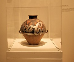 coca cola vase (J Blough) Tags: nyc cocacola aiweiwei wwwbrooklynmuseumorg