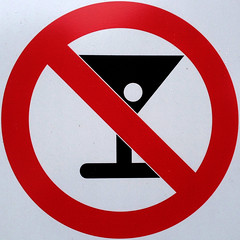 No alcohol (Leo Reynolds) Tags: xleol30x squaredcircle alcohol signsafety signcirclebar sqset107 iphoneography iphone 4s iphone4s groupiphone signno xxgeotaggedxx sign xx2014xx sqset