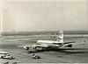 PK-GJA Convair CV-990-30A-5 Coronado, C/N: 30-10-3 in 1965 at Schiphol Airport (scan of old b/w picture made by me) just departing. (janencherry) Tags: coronado schiphol garuda convair convair990 pkgja
