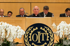 Mgr Tomasi, Apostolic Nuncio, The Holy See (ILO PHOTOS NEWS) Tags: see des holy palais nations mgr apostolic tomasi the ilo oit nuncio internationallabourorganisation ilc2014