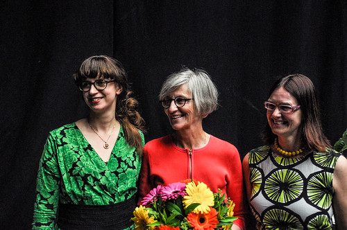 Three of the women behind Nordiskt Forum