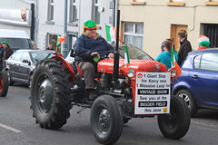 Massey Ferguson (Garibaldi McFlurry) Tags: ireland tractor saint vintage day patrick eire parade stpatrick stpatricksday donegal countydonegal moville saintpatricksday saintpatrick republicofireland vintagetractor maghbhile