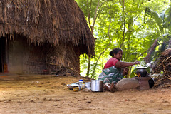 Free Space Kitchen (SouSuBe) Tags: life india kitchen photography indian villages pondicherry 2014 villag