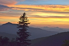 Blue Ridge Sunset (esywlkr) Tags: sunset nc blueridgeparkway mtpisgah wnc brp northcarolinawesternnorthcarolina