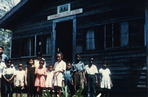 Fernwood [Mississippi?] .Colored. School, circa 1946