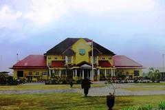 Regent's Office (theotrieste) Tags: yellow kantor kabupaten manggar beltim pemkab