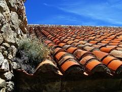 Adoro i coppi (fotomie2009 OFF) Tags: coppi tegole tetto roof toit france francia prieur marcevol