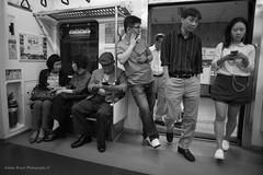 Generation E (adrianboyerphotos) Tags: subway coredusud southkorea nikon nikonfrance blackandwhite