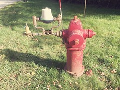 Waterous Hydrant With Apparatus (nhhydrants) Tags: hydranttesting peterboroughnh hydrant