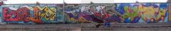 Lauda_Goldie_Knio's (Oldrockk) Tags: graffiti milano goldie lambrate bombing oink fs bombo tbc combo throwup obelix lauda obes gratosoglio knios xilebo fattelospingere
