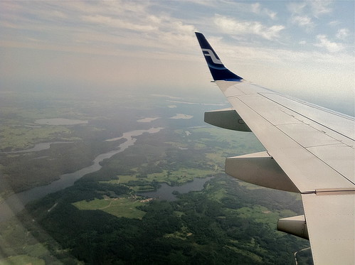 Landing in Lietuva