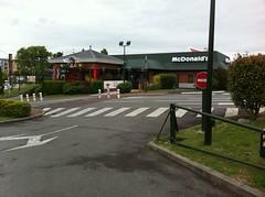 McDonald's, Longuenesse, St Omer, France.