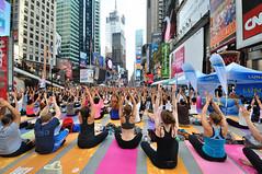 Times Square Yoga