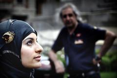 Sogni mostruosamnte proibiti (Sputo) Tags: milan girl milano ragazza manifestazione corteo profilo noalloccupazioneisraelianadimilano
