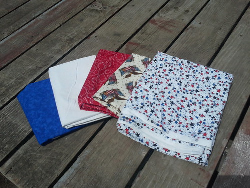 Backing, binding and applique fabrics for the ZZQAL