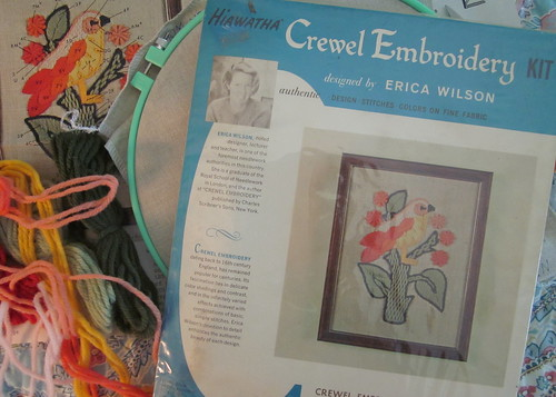 Bird Crewel Embroidery Kit