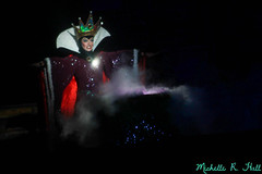 The Evil Queen (Michelle R Hall) Tags: world show california boss white snow man color water america mouse cool colorful disneyland evil disney mickey best resort queen rivers anaheim fantasmic villain dlr