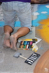 DSC08877 (rvanbree) Tags: city lake art festival utah chalk salt gateway thunder distant 2014 rvanbree