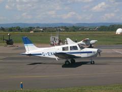 G-EKIR Piper 28 (Aircaft @ Gloucestershire Airport By James) Tags: james airport gloucestershire 28 piper lloyds gekir egbj