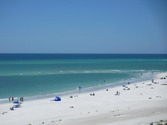 White sand and brilliant water, Lido Beach, Sarasota, Florida (Paul McClure DC) Tags: gulfofmexico scenery florida sarasota lidokey sarasotacounty may2014