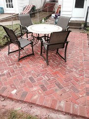 """Brick Patio • <a style=""""font-size:0.8em;"""" href=""""http://www.flickr.com/photos/76001284@N06/14379157031/"""" target=""""_blank"""">View on Flickr</a>"""