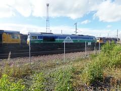 MOSSEND 66711 SENCE (johnwebb292) Tags: diesel class 66 66711 sence mossend