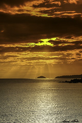 Beyond The Horizon (Bernai Velarde-Light Seeker) Tags: panama canal country pacific pacifico ocean oceano atardecer sunset island sea mar bernai velarde