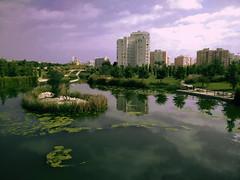 Parque de La Marjal (Ivn.Gnell) Tags: marjal parque cielo nubes naturaleza arquitectura edificios urbano ciudad alicante provincia espaa vegetacin paisaje rboles reflejos mvil telfono oneplus one exterior colores