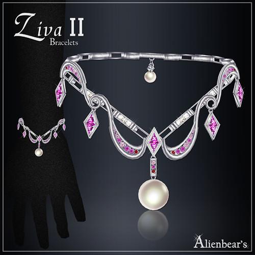 Ziva II bracelets pinky