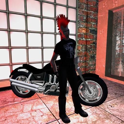 Rieko Biker Girl