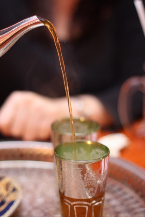 tea pouring