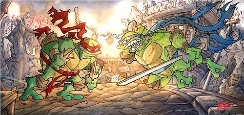 NINJA TURTLES [[ The art of Ciro Cangialosi ]]