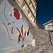 Murale di Mario Toral nel paseo Guimea (Cerro Bellavista - Valparaiso)