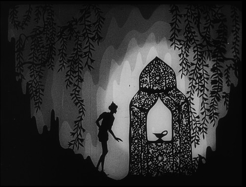 4. Lotte Reiniger - Adventures of Prince Achmed. Barbican