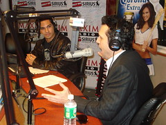 Dane Cook on Covino and Rich (covinoandrich) Tags: show celebrity radio tv satellite rich entertainment sirius movies xm covino