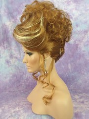 Elegant Blonde Mix Up-do 2 (mgwigs4u) Tags: gay cd tranny transvestite dragqueen crossdresser transsexual dragqueenwigs