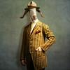 The honest man - L'honnête homme (Martine Roch) Tags: portrait hat animal costume character surreal goat photomontage surrealist elegant cintage caractère martineroch flypapertextures