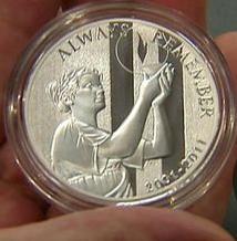 September 11 Memorial Medal
