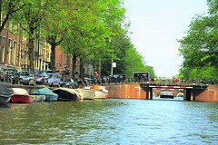 Amsterdam, Netherlands (faungg's photos) Tags: street city travel holland water netherlands amsterdam canal snapshot scene    0276