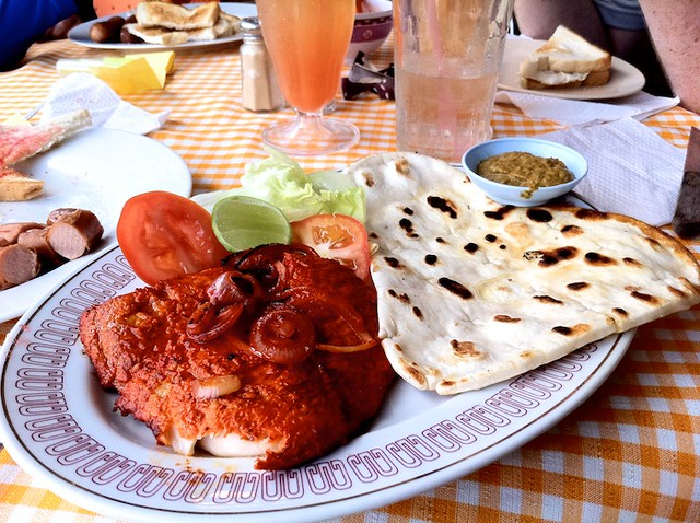 Tandoori Fish at Helenas