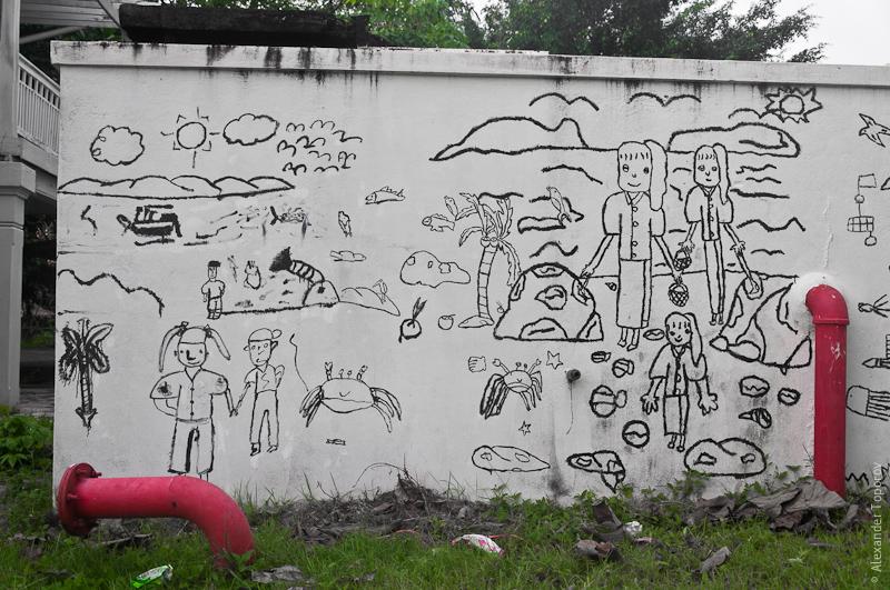 Стена-раскраска