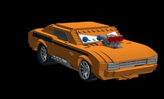 Snotrod - Disney / Pixar Cars Movie Character