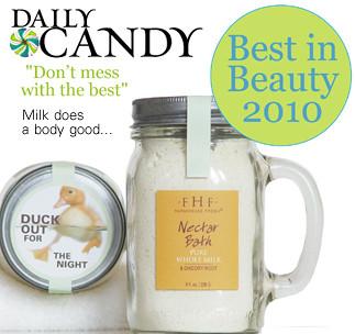 Nectar Powder Pure Whole Milk Bath: Best in Beauty 2010