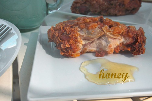 fried chicken & honey!
